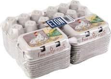 Eton egg box free range white 260 pack